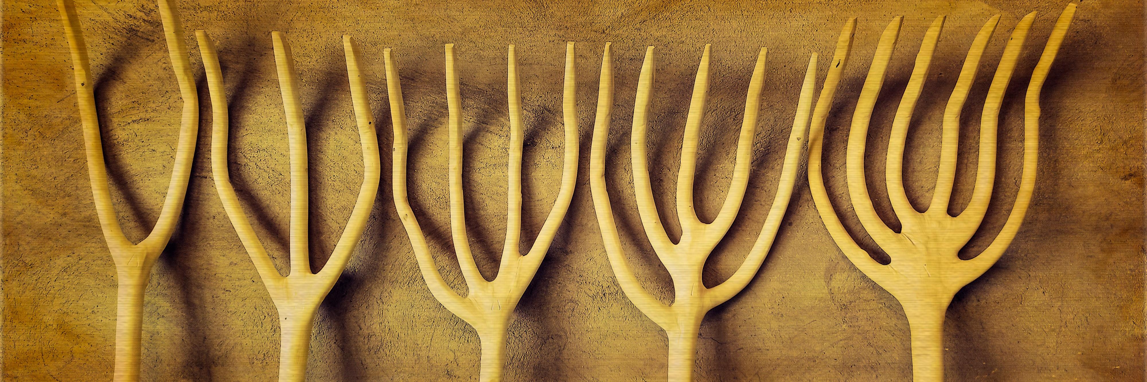 Horcas de madera
